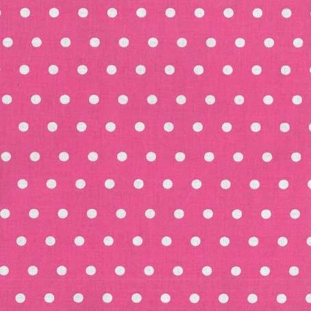 beschichtet Punkte pink