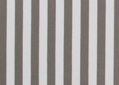 Jersey Streifen taupe/grau