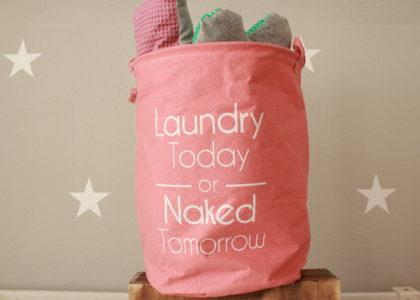 Wäschesack pink